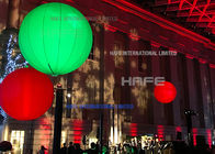 Moon LED Helium Balloon Lights Night Decoration , Illuminate 3M Led Light Party Balloons