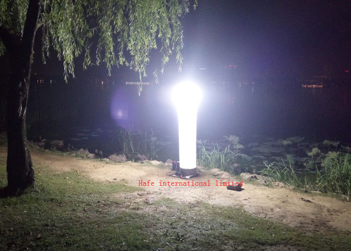 90V - 240V DC Led Tower Work Light With 575W HMI Lighting 49000lm
