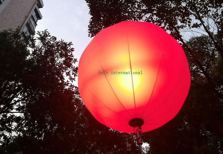 RGBW Inflatable Led Light Balloon Events Lighting400W RGB + White